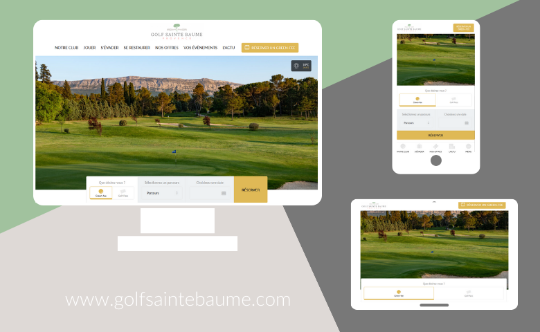 The Golf Sainte Baume website has a brand new look! - Open Golf Club