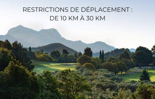 Mesures d'allègement pour le golf et les sports de plein air !