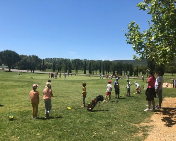 Stage école de golf au Golf Sainte Baume